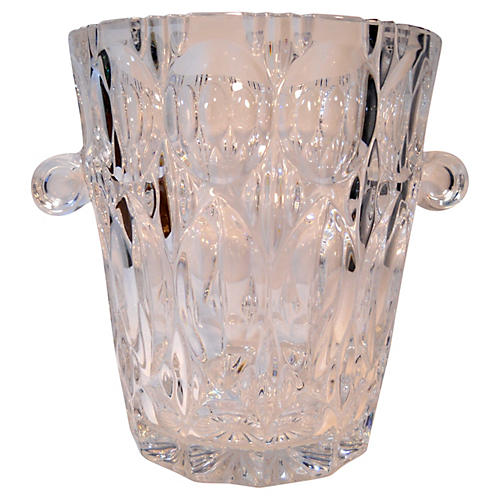 Glass Champagne Bucket