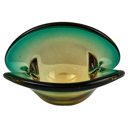 Murano Clam Shell Bowl