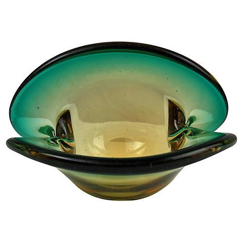 Murano Clam Shell Bowl
