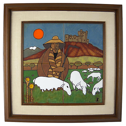 Shepherd's Flock Tile Art