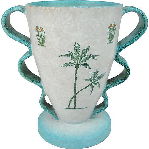Italian Deruta Ceramic Vase
