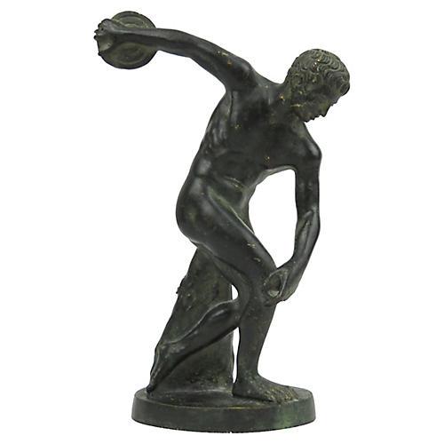 World Tour Bronze Discobolus Figure