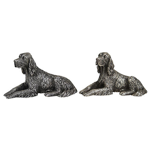 Sterling Setter Bookends