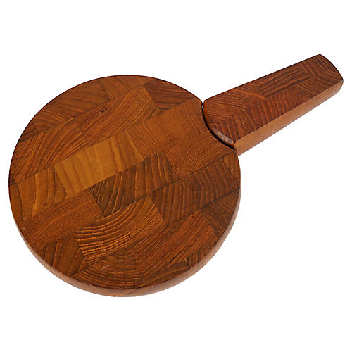 Quistgaard Teak Cheese Board and Knife