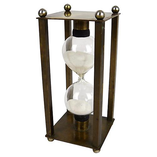 Petite Brass Hourglass
