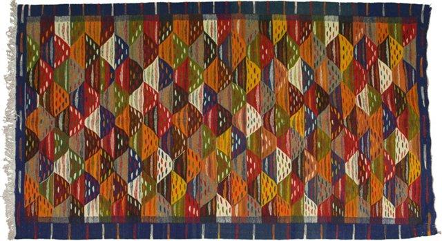 """Moroccan Berber Rug, 6'6"""" x 3'9"""""""