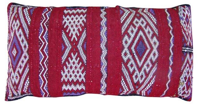 Purple & White Moroccan Sham