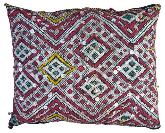 Diamond Design Moroccan Sham