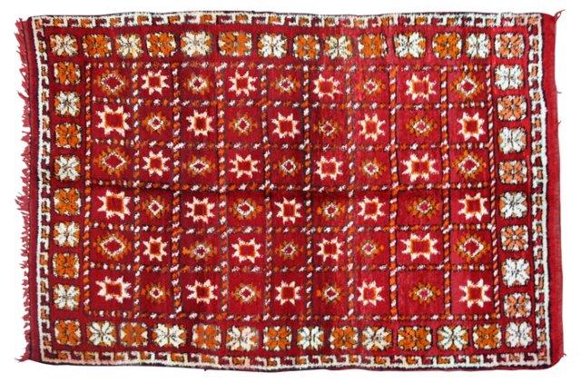 "Moroccan Rug, 6' x 4'1"""