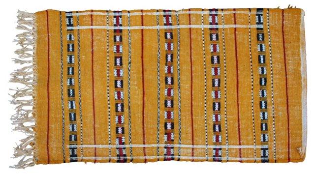 "Moroccan Berber Kilim, 4' x 2'1"""