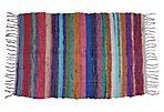 Multicolor Boucherouite Rug, 3' x 2'