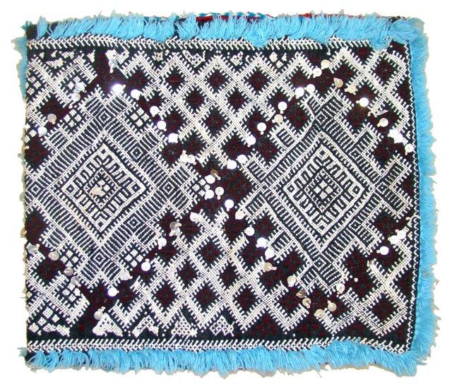 Blue Moroccan Berber Sham