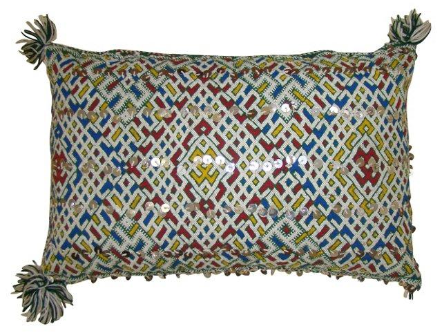 Diamond Pattern Moroccan Sham