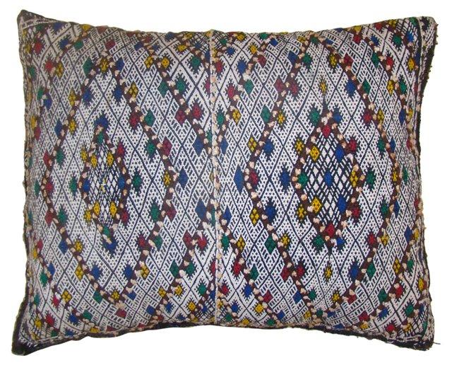 Moroccan   Berber Sham w/ Diamonds