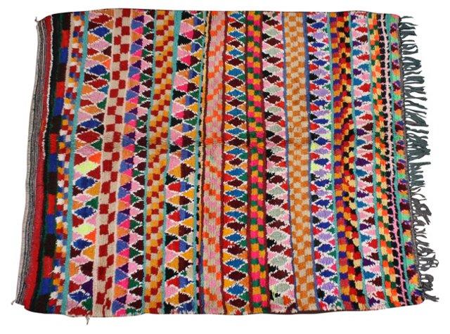 "Moroccan Rug,  4'9"" x 4'8"""