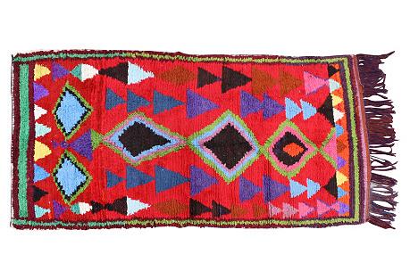 Moroccan Rug, 7'6