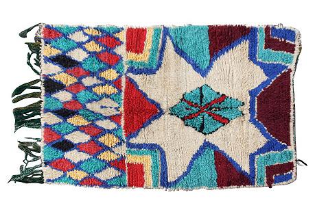 Moroccan Rug, 4'5