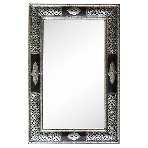 Hand-Engraved Mirror