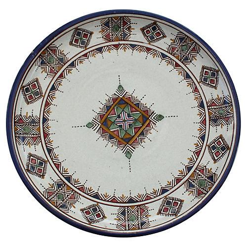 Moroccan Ceramic Wall Plate