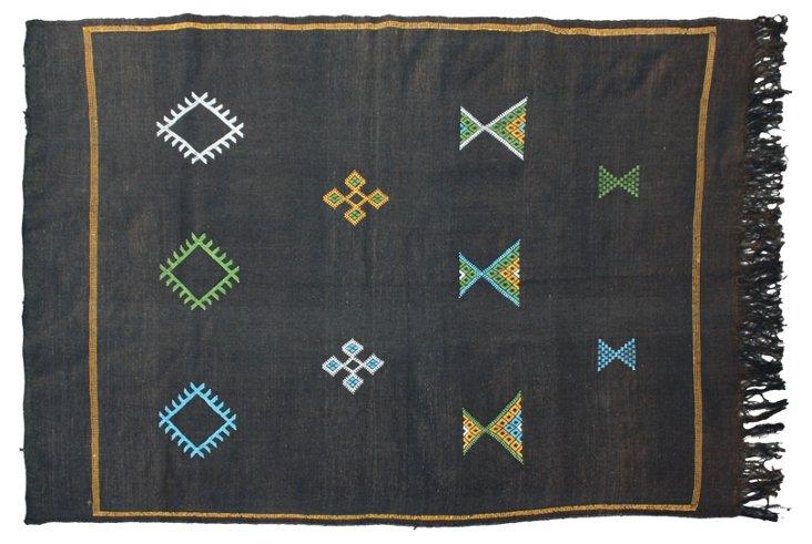 "Moroccan Cactus Silk Rug, 6'4 "" x 3'10"""
