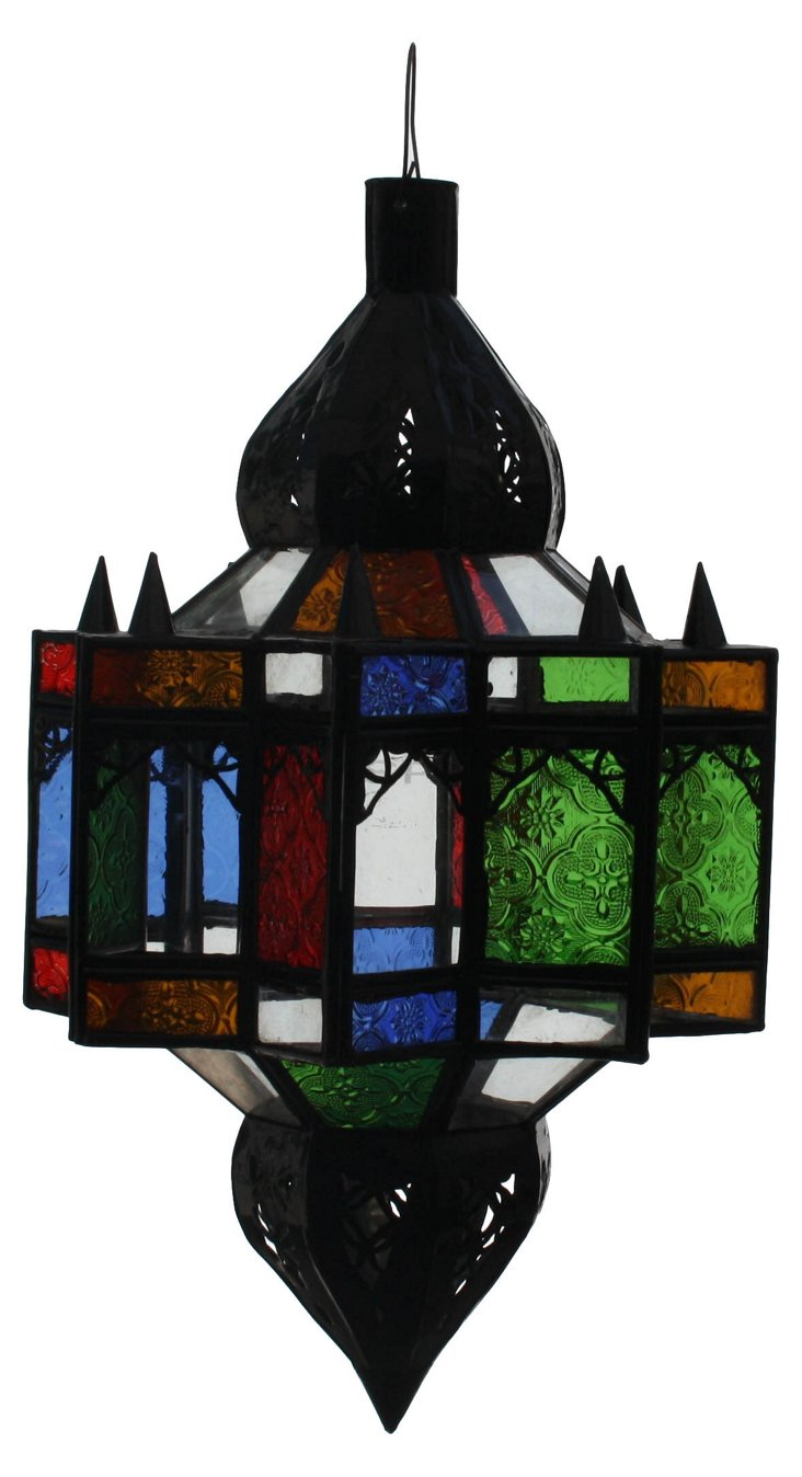 Hand-Crafted  Moroccan  Lantern