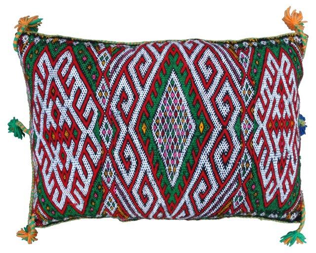 Moroccan Berber Sham w/   Tassels