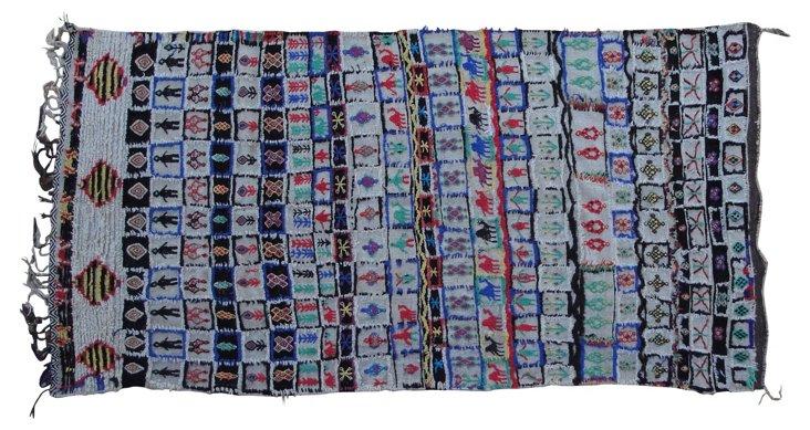 Moroccan Rug, 9'4'' x 4'7''