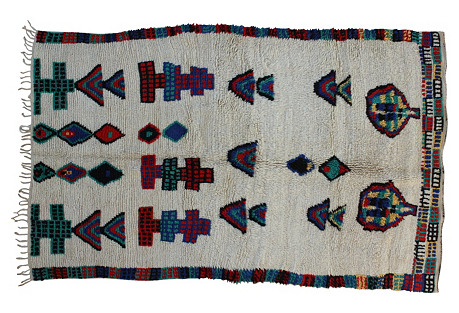 Moroccan Rug, 4'7'' x 7'5''