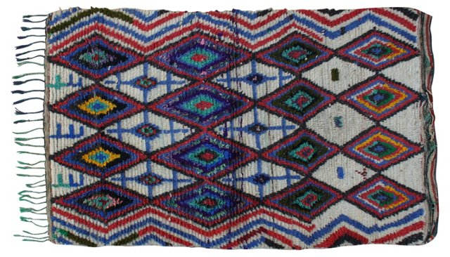 Moroccan Rug, 5'5'' x 3'2''