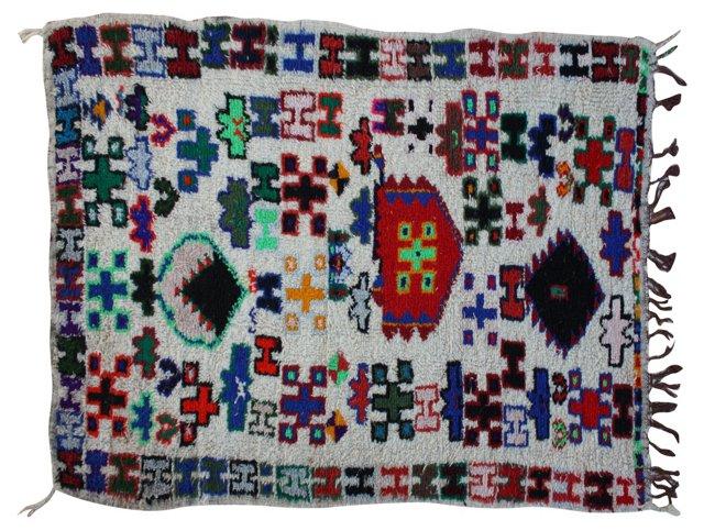 Moroccan Rug, 7'3'' x 3'6''