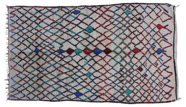 Moroccan Rug, 8'3'' x 4'8''