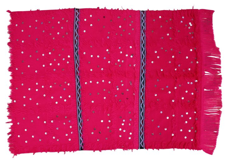 Pink   Moroccan Berber Throw