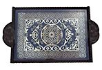 Moroccan Tray w/ Arabesque Design
