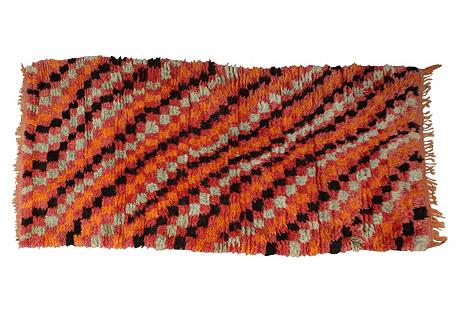 Moroccan Rug, 5'10'' x 2'8''