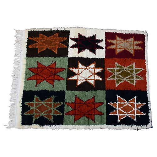 Moroccan Rug, 6' x 4'6''