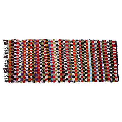 Moroccan Rug, 8' x 3'2''