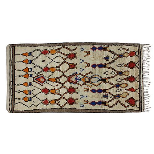 Moroccan Rug, 7'8'' x 4'