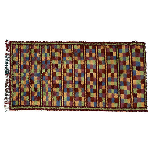 Moroccan Rug, 4'9'' x 9'