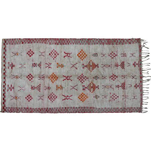 Moroccan Rug, 4'5'' x 8'5''