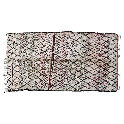 Moroccan Beni Ourain Rug, 11' x 6'