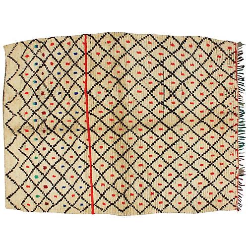 Moroccan Rug, 7' x 5'7''