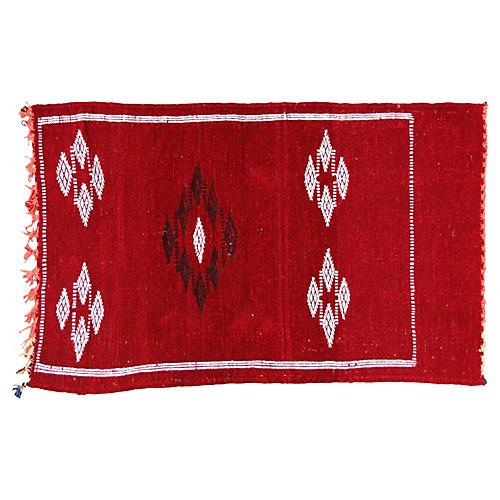 Moroccan Rug, 3' x 1'9''