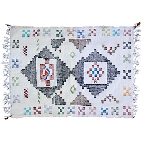 Moroccan Rug, 2'10'' x 2'
