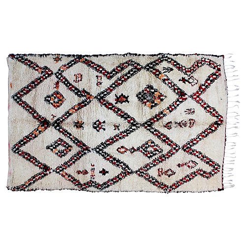 Moroccan Rug, 10' x 6'3''