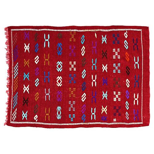 Moroccan Rug, 4'5'' x 3'1''