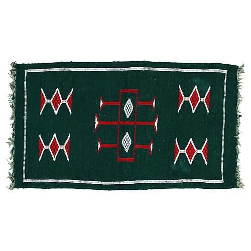 Moroccan Rug, 3'5'' x 1'11''