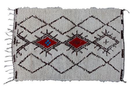 Moroccan Rug, 5'5'' x 3'3''