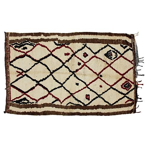 Moroccan Rug, 8' x 4'8''