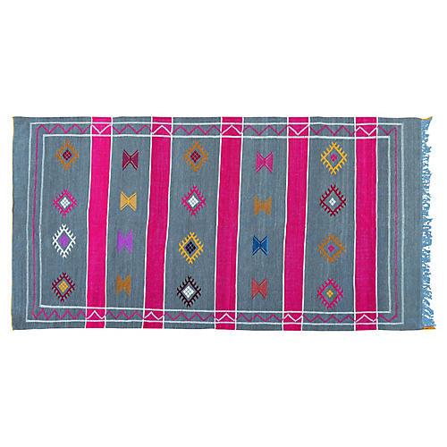Moroccan Cactus Silk Rug, 8'2'' x 4'3''