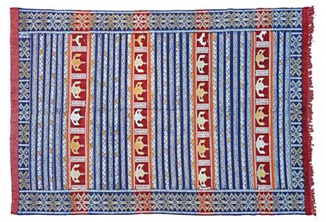 Moroccan Rug, 6' x 4'2''